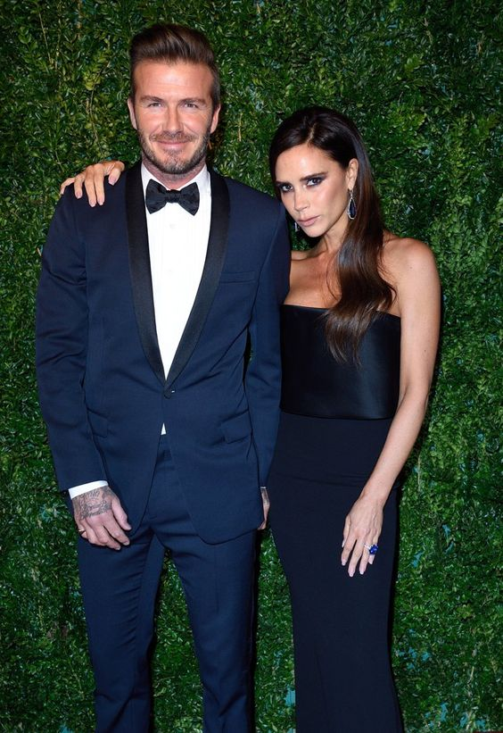 Pin for Later: David and Victoria Beckham Put His Scary Car Crash Behind Them