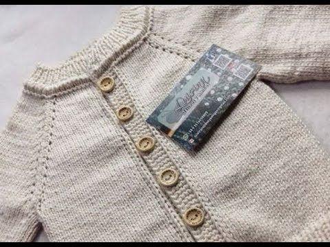 Saquito Suéter Sweater O Jersey Abierto Manga Ranglan Part 1 Youtube Sweaters Tejidos Knitting Patterns