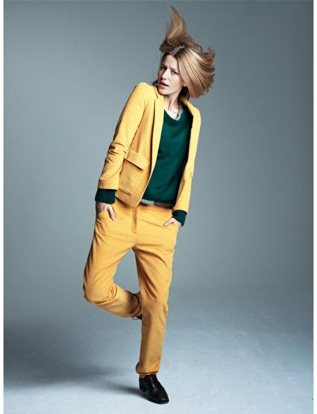 ba collection automne hiver 2012-2013 // tailoring jaune