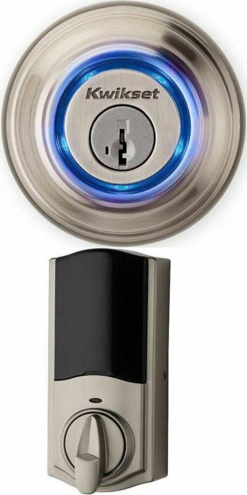 Brand New Kevo 2nd Gen Touch To Open Bluetooth Smart Lock Alexa Satin Nickel Smart Lock Smart Door Locks Lock N Lock