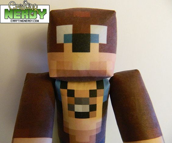 Cool Minecraft Toys : Mention anglswngs plush minecraft inspired l for lee