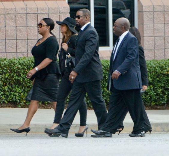 Bobbi Kristina Brown's Funeral & Wake — Pics