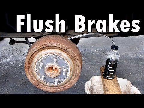 Bleeding The Brakes After Servicing The Hydraulic Portion Of The Brake System Ensures Proper Braking Ability Brake Fluid Car Maintenance Automotive Solutions