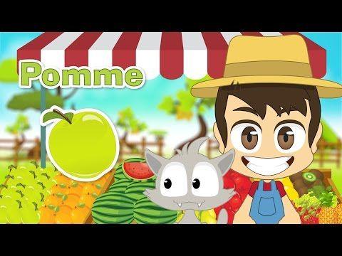 Fruits In French For Kids أسماء الفواكه باللغة الفرنسية للأطفال Https Ift Tt 2m0azth درس لغة فرنس French Language Mario Characters Character
