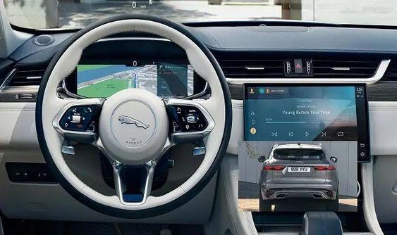 جاكوار اف بيس 2021 Steering Wheel Wheel Vehicles