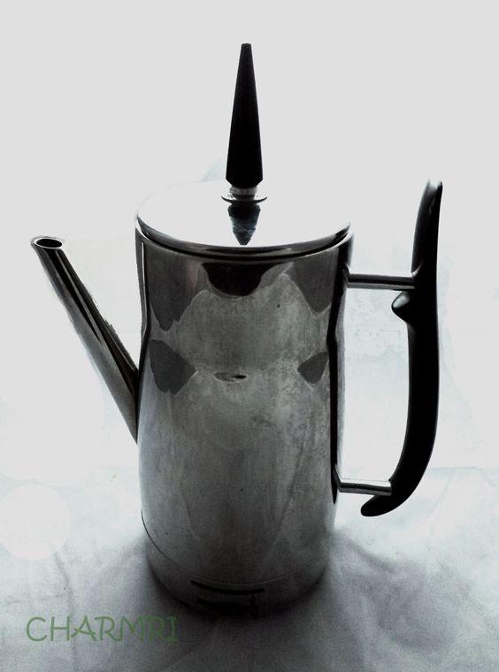 Vintage Coffee Percolator Art Deco Chrome by CHARMRI on Etsy, $30.00