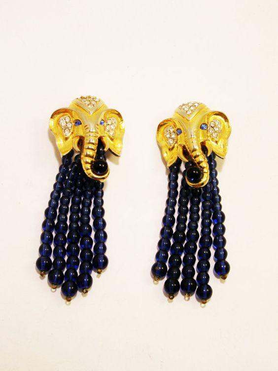 Vintage Elizabeth Taylor for Avon Elephant Walk by TheOpulentHippo, $195.00