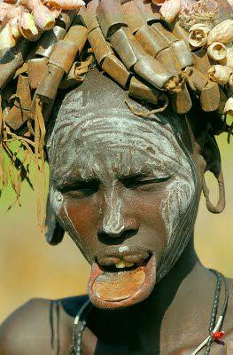 Mursi tribe,Africa