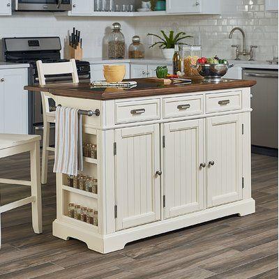 August Grove Hewson Kitchen Island Set Interior Design Kitchen Kitchen Interior Kitchen Island Design