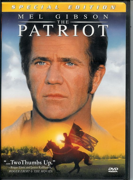 The Patriot (2000)  I consider this to be one of Mel Gibson's most moving performances.  A definite must watch if you love history, war movies, or drama.  The story of a man's struggle to protect his family during the dangerous time of the Civil War, and fulfill duty to his fellow countrymen at the same time.