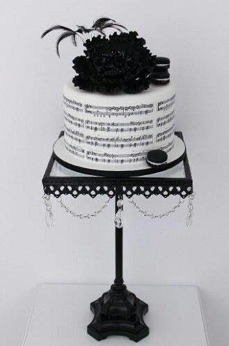 Cake: piano notes