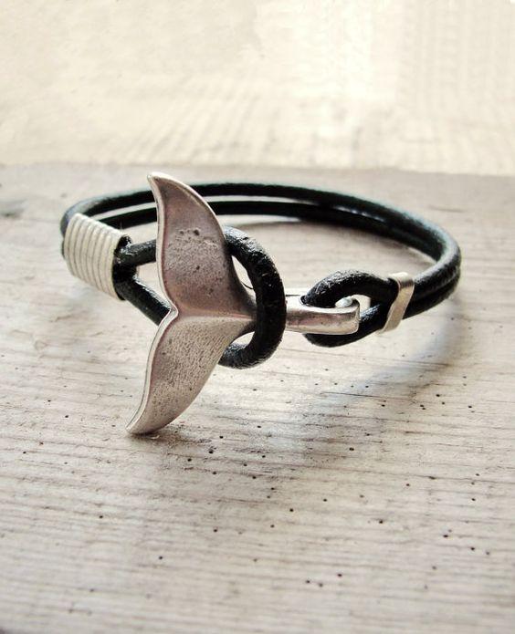 Bracelet queue de baleine nautique Bracelet par StarDelights