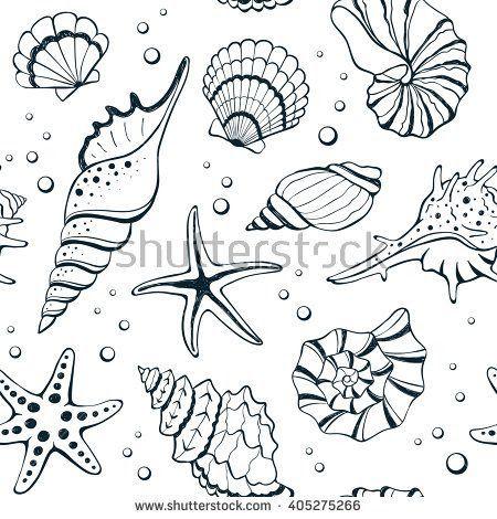 Pin Von Yoelis Rodriguez Auf Mer Meer Zeichnung Muscheln Zeichnen Fische Zeichnen
