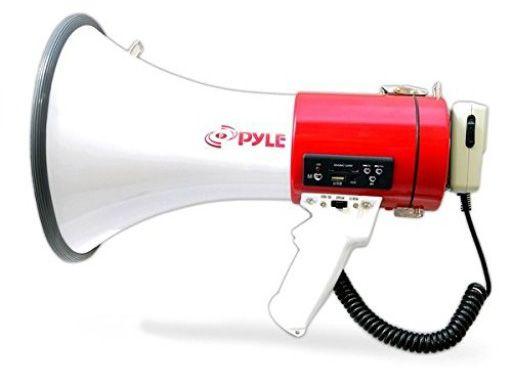 Pyle Pro PMP37LED 30-Watt Mini Compact Megaphone//Bullhorn