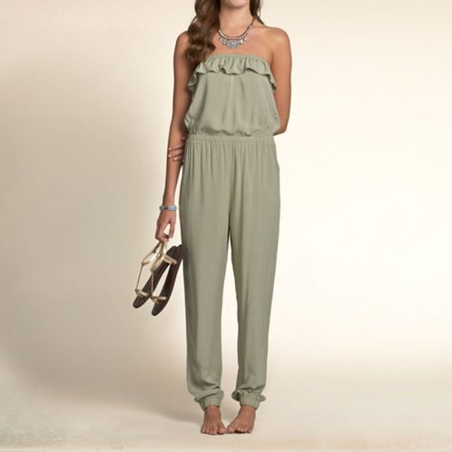 Girls Hollister Strapless Jumpsuit