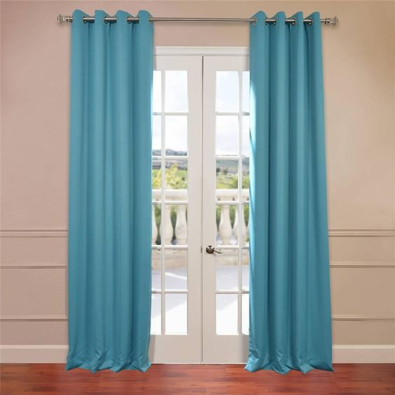 Curtains Ideas blackout curtain reviews : Half Price Drapes Grommet Plush Blackout Curtain Panels & Reviews ...