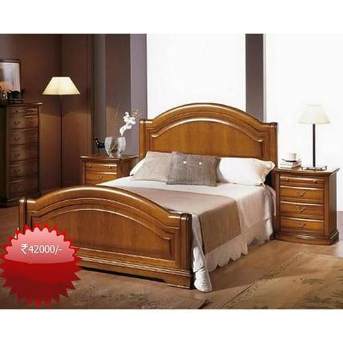 A Wooden Bed Creates A Warm Atmosphere Savillefurniture Wooden Bed Design Bed Furniture Design Bedroom Bed Design