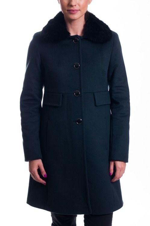 Plaszcz Zielony Lavard 83540 Coat Fashion Jackets