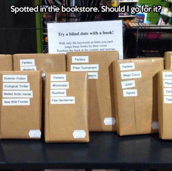Blind date books