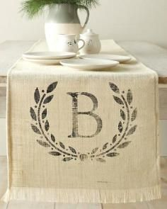 DIY Tutorial DIY Table Runner / DIY Wedding Crafts: Lace and Burlap Table Runner - - Bead&Cord