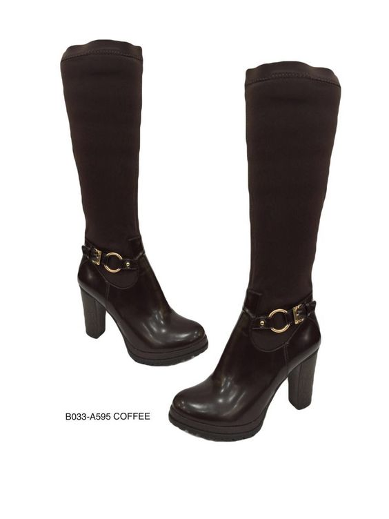 #Botas caña alta color #Café Disponible en tallas 36 a 40. Pedidos al 3118314735 más información en: https://www.facebook.com/ventasboutiqued2/