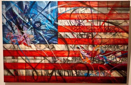 american flag graffiti - photo #16