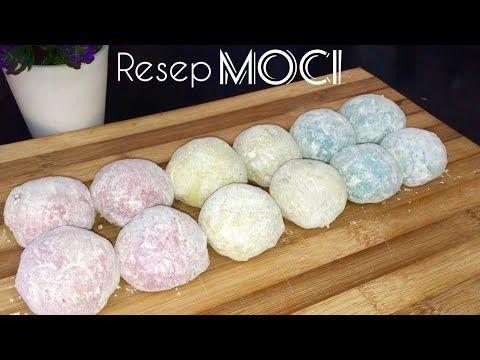 Cara Membuat Kue Mochi Lembut Youtube Di 2020 Moci Makanan Memasak
