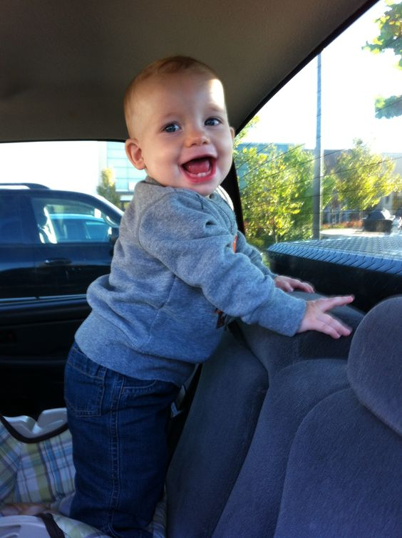 I love this handsome baby boy with all my heart! He has me wrapped around his little finger, he is my everything!!<3