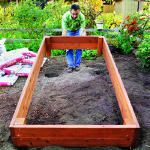 How to make a raised garden bed :)