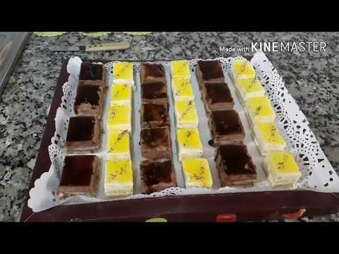 تعلمي تحضير حلويات سواري باردة في وقت وجيز Youtube Food Entremet Buffet