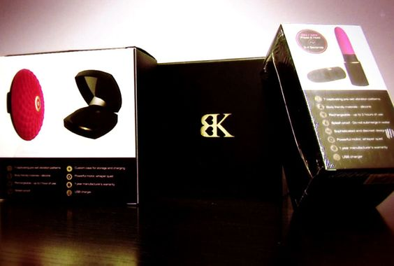 some discreet bedroom toys from her adult luxury line bedroom kandi
