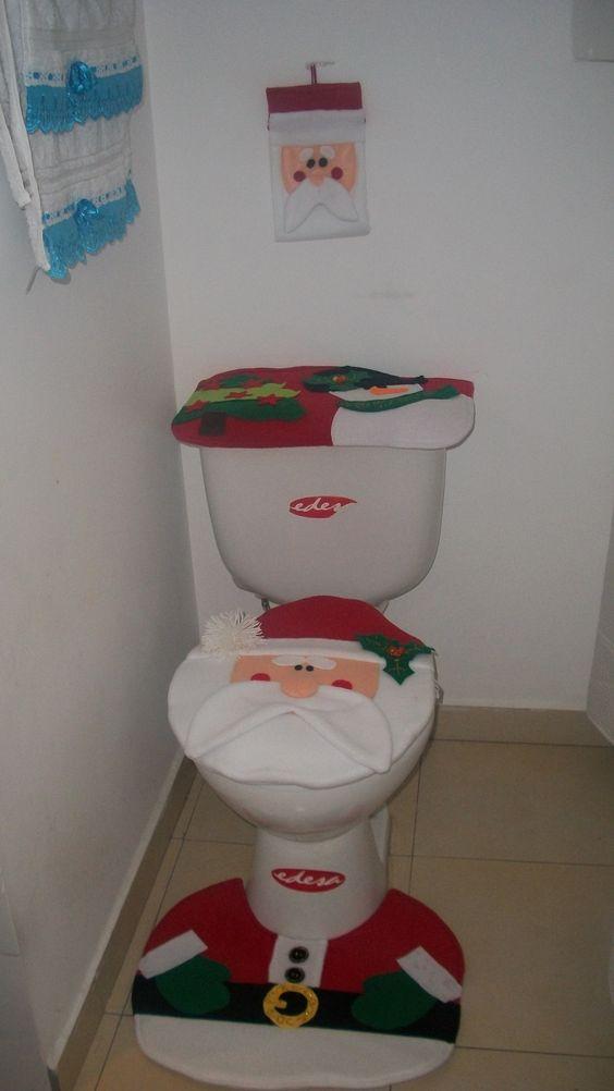 Juegos De Baño Urrea:Papá Noel Juego de baño Navideño