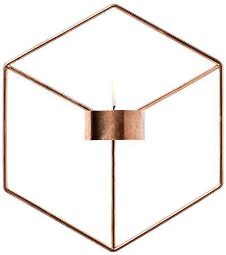 MENU 4766239 POV Wall Tealight Holder, Copper Menu…