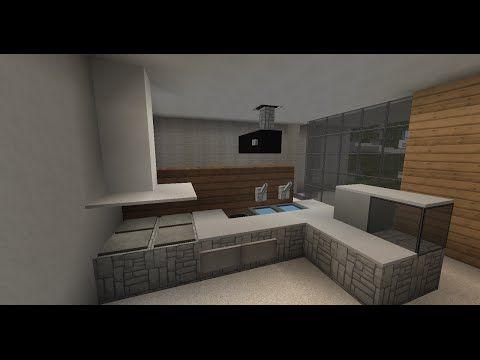 Minecraft Tuto Deco Interieur Meubles 2 2 Youtube Maison Minecraft Maison Moderne Minecraft Minecraft Tuto