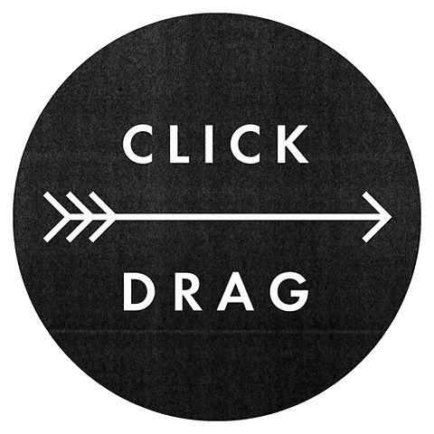 click drag