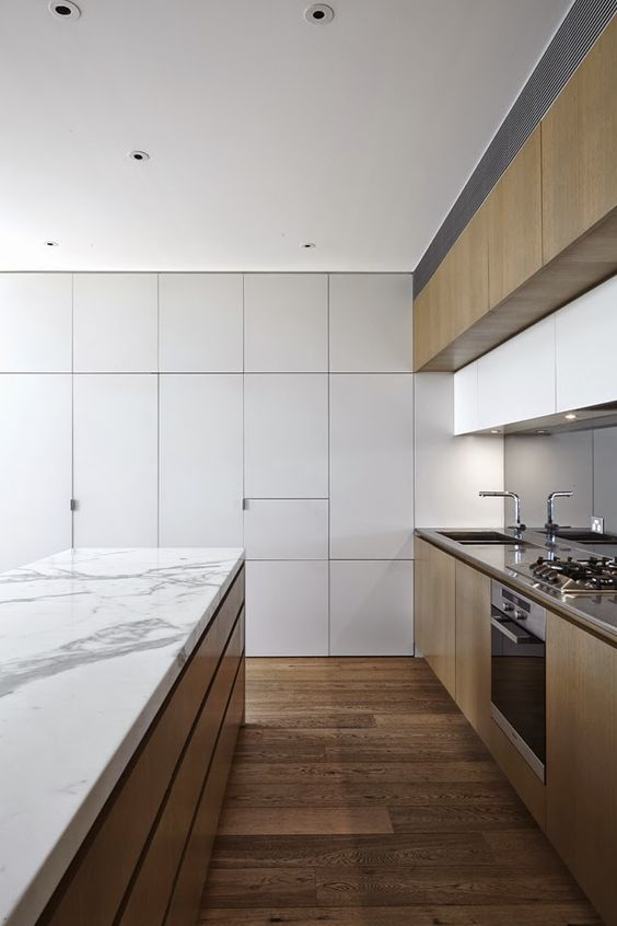 Fraser street residence chamberlain javens architects for Minimalist pantry design