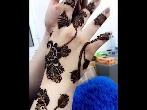 نقش حناء رووعه للعرايس Youtube Henna Mehndi Henna Henna Art