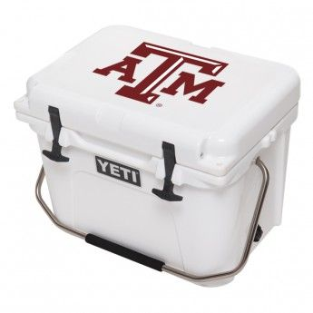 Texas A & M YETI Cooler -: