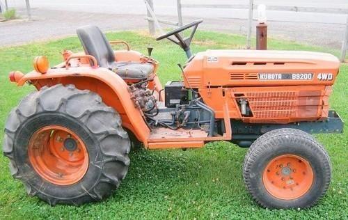 Kubota B9200hst Tractor Operator Manual Download Tractors Kubota Repair Manuals
