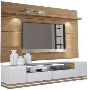 Mueble Tv Moderno Flotante Lacado Poliuretano Ref Mural22 1 115 000 En Mercado Libre Muebles Para Tv Modernos Muebles Para Tv Muebles Flotantes Para Tv