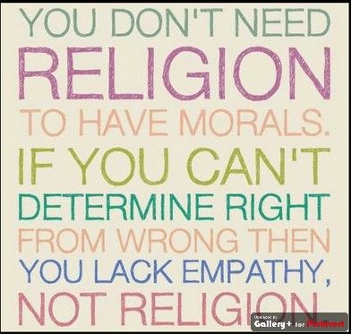 From whence does morality come?