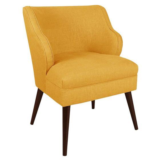 Skyline Custom Upholstered Modern Chair,