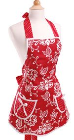Love aprons.  Have a stack of them I never think to use.