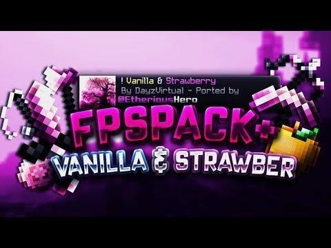 1 7 3 Vanilla Strawberry 16x Pvp Texture Pack 1 6 4 1 5 10 Minecraft Pe Pocket Edition Texture Packs Pocket Edition Pvp