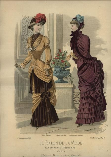 Le Salon de la Mode 1882: