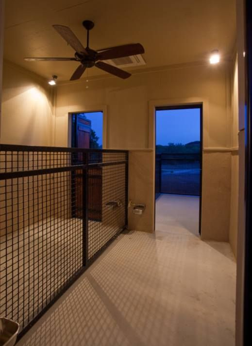 Kennel ideas dog kennels and dogs on pinterest for Dog kennel in garage ideas