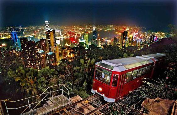 Looking up, up, up in Hong Kong