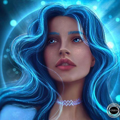 I Just Wanted To Draw Something Underwater But In The End I Got Something Like Ariel Digital Art Girl Aquarius Art Zodiac Art