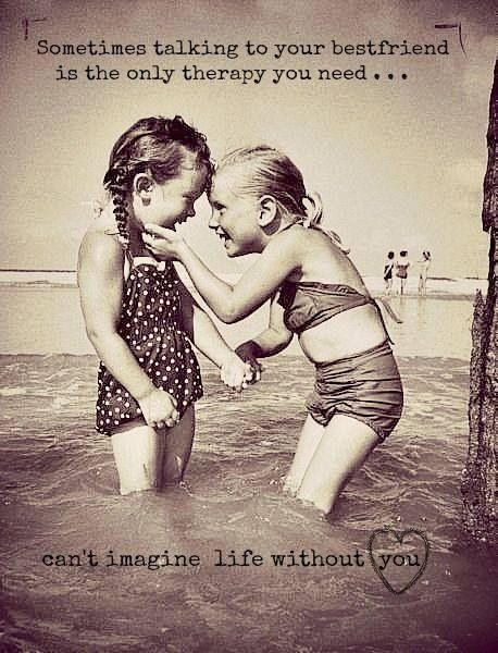 Having Fun With Friends Quotes And Sayings : Love . Best friends . Quotes . Beach . Girls . Having fun !!