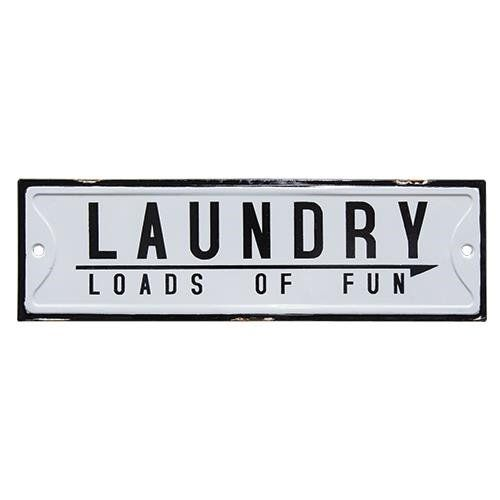 Excited To Share This Item From My Etsy Shop Signs Metal Laundry Loads Of Fun Distressed Shabby Chic Farmhou Laundry Signs Metal Signs American Paint Company